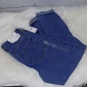 NWT PACSUN mom jeans size 24 tappered leg